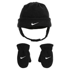 NWT Nike Fleece Toddler Hat/Mitten Set